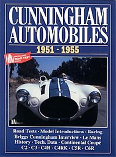 Cunningham Automobiles 1951-1955, Brooklands Books