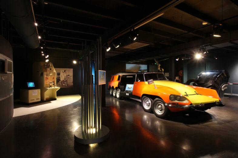 Citroën : deux des modèles les plus « fous » de l'histoire ! Par Frédéric Lagadec  L-Aventure-Michelin-Citroen-DS-Mille-Pattes-785x523