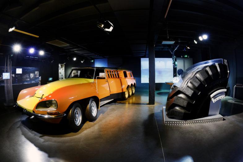 Citroën : deux des modèles les plus « fous » de l'histoire ! Par Frédéric Lagadec  L-Aventure-Michelin-DS-Citroen-Mille-Pattes-785x523