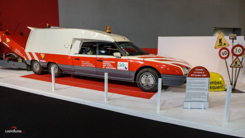 Citroën : deux des modèles les plus « fous » de l'histoire ! Par Frédéric Lagadec  Les-Routes-Mythiques-Mondial-Auto-2018-Citroën-CX-Serie-2-GTI-turbo-1987-Pont-et-Chaussees-12-785x442