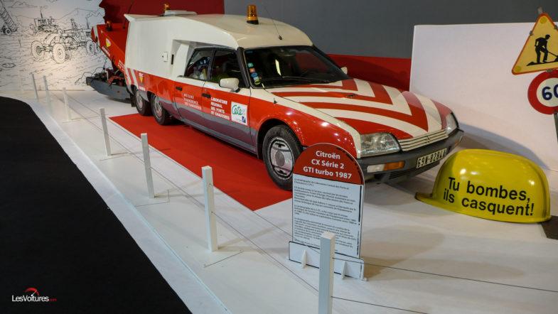 Citroën : deux des modèles les plus « fous » de l'histoire ! Par Frédéric Lagadec  Les-Routes-Mythiques-Mondial-Auto-2018-Citroën-CX-Serie-2-GTI-turbo-1987-Pont-et-Chaussees-2-785x442