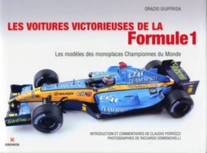 Les voitures victorieuses de la Formule 1
