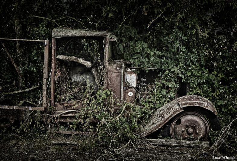 cimetières de voitures