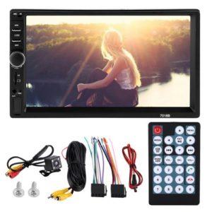 MP5 Lecteur 7 Pouces HD Universel BluetoothMP5 Lecteur Voiture Bluetooth Mains Libres Support
