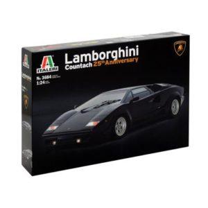 Maquette de voiture : Lamborghini Countach (25 ans) Italeri