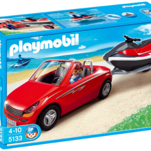 Playmobil 5133 Voiture avec remorque et jetski