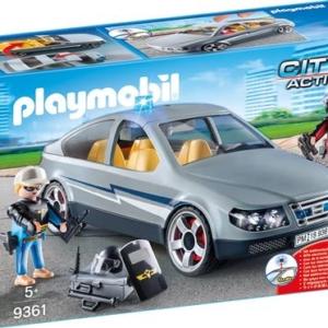 Playmobil City Action Les policiers d'élite 9361 Voiture banalisée avec policiers en civil