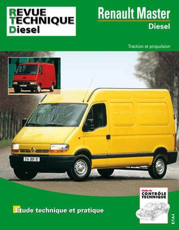Revue technique automobile 113.7 Renault Master Diesel 1980-2000