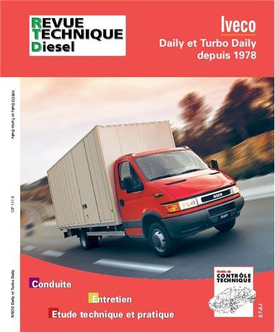 Revue technique automobile 117.6 Iveco daily et Turbo daily depuis 1978