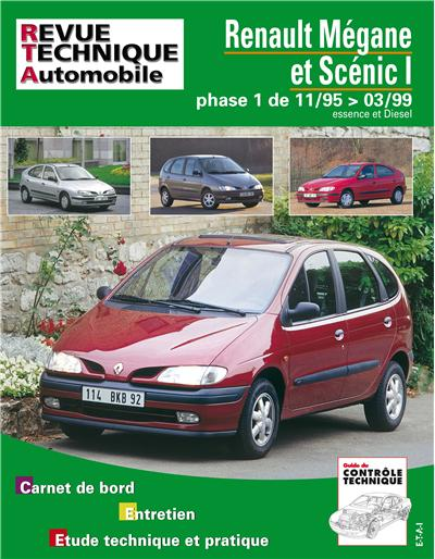 Revue technique automobile 119.1 Megane Scenic 99