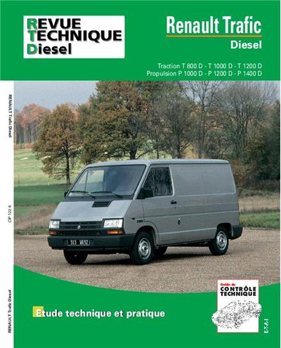 Revue technique automobile 122.6 Renault Trafic Diesel 81-98