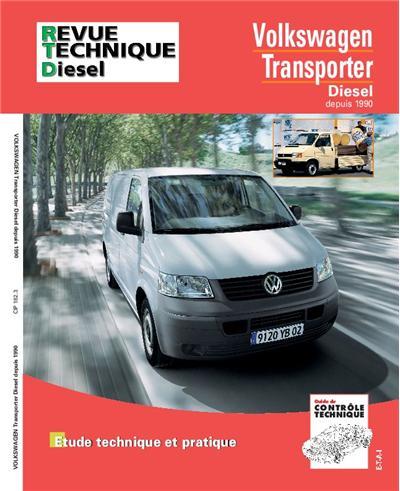 Revue technique automobile 182.3 VW Transporter Diesel 91-98 TD/TDI