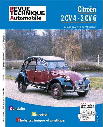 Revue technique automobile 297.9 Citroën 2 CV 4 et 6 fourgonnette (71-90)