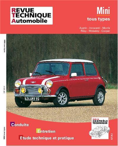 Revue technique automobile 343.5 Austin Mini tous types (59/92)