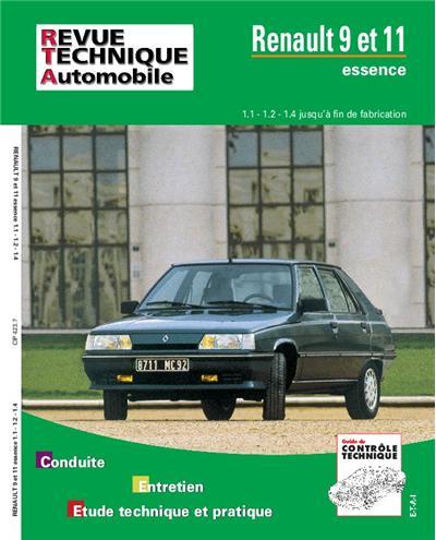 Revue technique automobile 423.7 Renault 9 et 11 (1108-1237 et 1397)