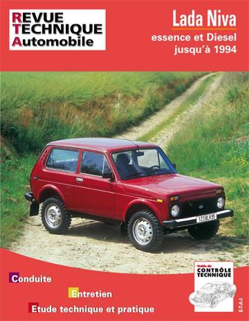 Revue technique automobile 435.3 Lada Niva 4X4 essence-Diesel (78-94)