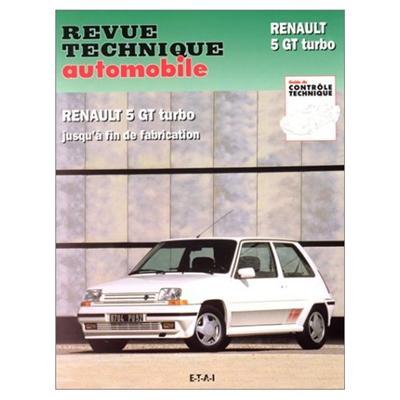 Revue technique automobile 464.5 Renault 5 GT Turbo (85-92)