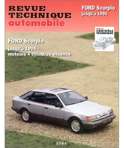 Revue technique automobile 510.2 Ford Scorpio (85-94)