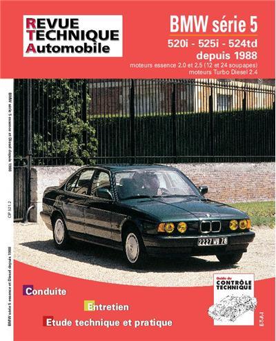 Revue technique automobile 521.2 BMW série 5 E&D (88/91)& TD