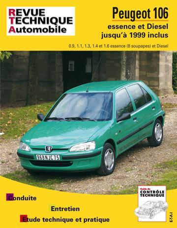 Revue technique automobile 539.5 Peugeot 106 essence 92/99 & Diesel 93/99