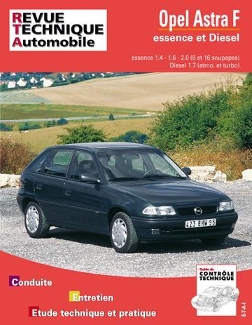 Revue technique automobile 547.2 Opel Astra F essence et Diesel 92-93