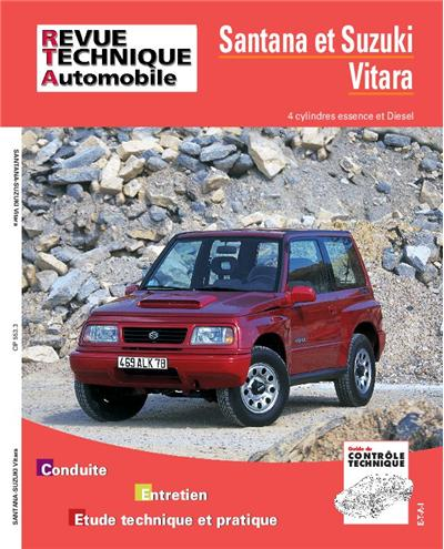 Revue technique automobile 553.3 Vitara essence et Diesel 90-97