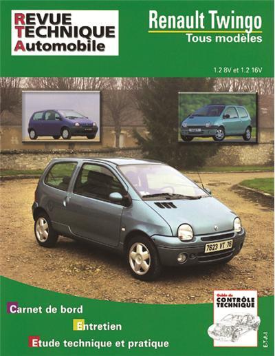 Revue technique automobile 558.6 Renault Twingo (93-2004)