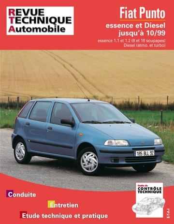 Revue technique automobile 566.3 Fiat PUNTO essence et Turbo Diesel 93-98
