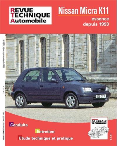 Revue technique automobile 572.1 Nissan Micra 93-95