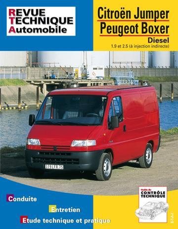Revue technique automobile 583.1 Citroën Jumper/Peugeot Boxer