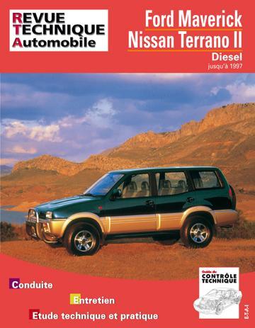 Revue technique automobile 586.1 Ford Maverick/Nissan Terrano II Diesel