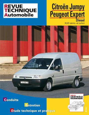 Revue technique automobile 590.1 Jumpy/Scudo/Expert Diesel
