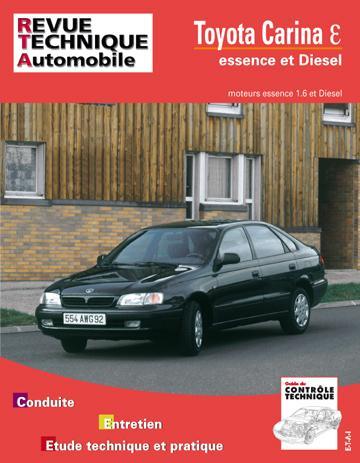 Revue technique automobile 591.1 Toyota Carina E&D