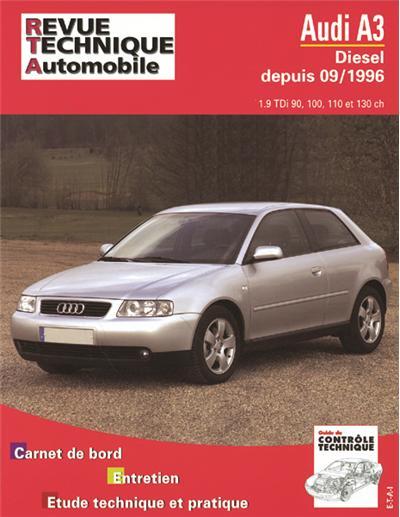 Revue technique automobile 616.2 Audi A3 Diesel (TDI 90/110 CV)