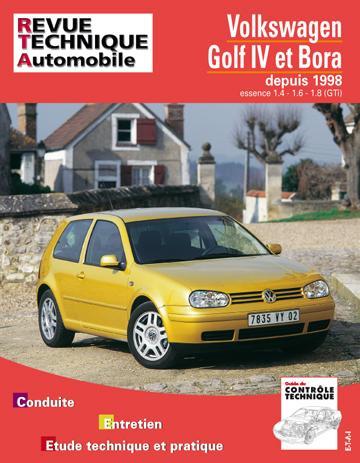 Revue technique automobile 618.1 VW Golf IV Bora essence 1.4/1.6/1.8
