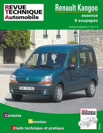 Revue technique automobile 632.1 Kangoo essence