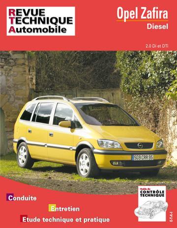 Revue technique automobile 633.1 Opel Zafira Diesel