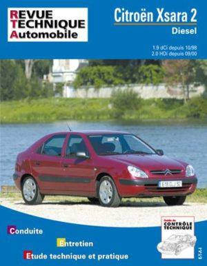 Revue technique automobile 644.2 Citroën Xsara 2 Diesel depuis 10/98
