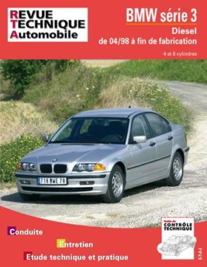 Revue technique automobile 645.1 BMW 320/330 Diesel