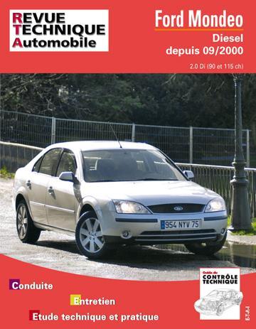 Revue technique automobile 648.1 Ford Mondeo 2 Diesel depuis 09/2000