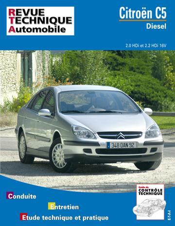 Revue technique automobile 654.1 Citroën C5 Diesel (2001)