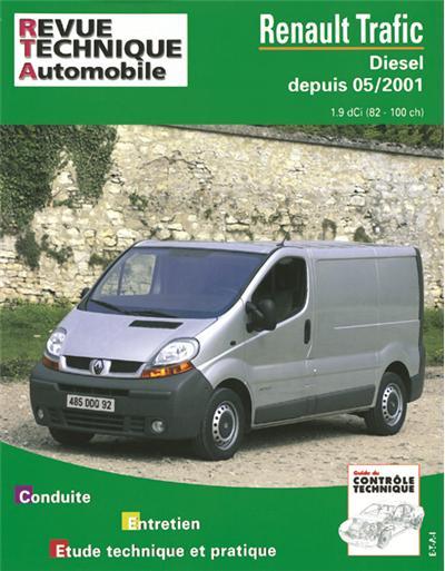 Revue technique automobile 655.1 Renault Trafic Diesel depuis 5/01