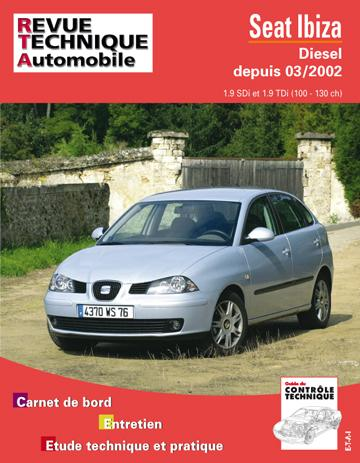 Revue technique automobile 660.1 Seat Ibiza Diesel
