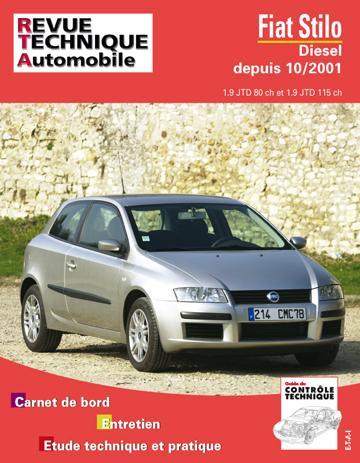 Revue technique automobile 661.1 Fiat Stilo Diesel depuis 10/01