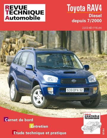 Revue technique automobile 662.1 Toyota Rav 4 Diesel
