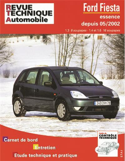 Revue technique automobile 671.1 Ford Fiesta essence