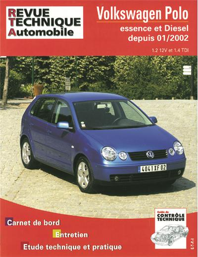 Revue technique automobile 683.1 VW Polo depuis 01/02