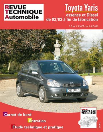 Revue technique automobile 691.1 Yaris 03/2003