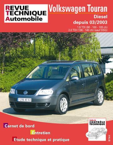 Revue technique automobile 693.1 Touran 04/2003