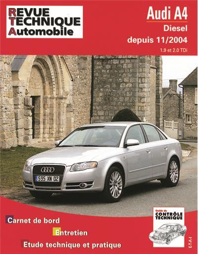 Revue technique automobile 695.1 Audi A4 d 11/04